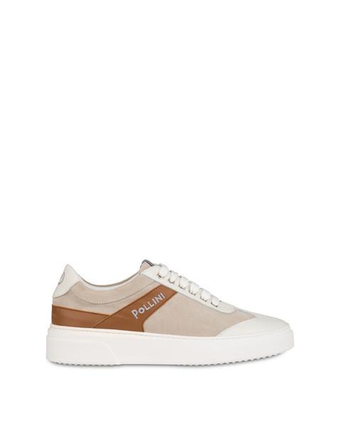 Classic suede sneakers MILK/MILK/HIDE