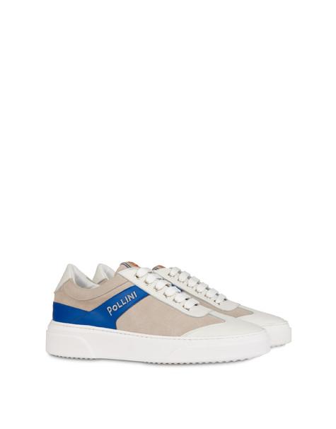 Classic suede sneakers MILK/MILK/BLUETTE