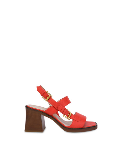 Buckle Notes calfskin sandals GERBERA