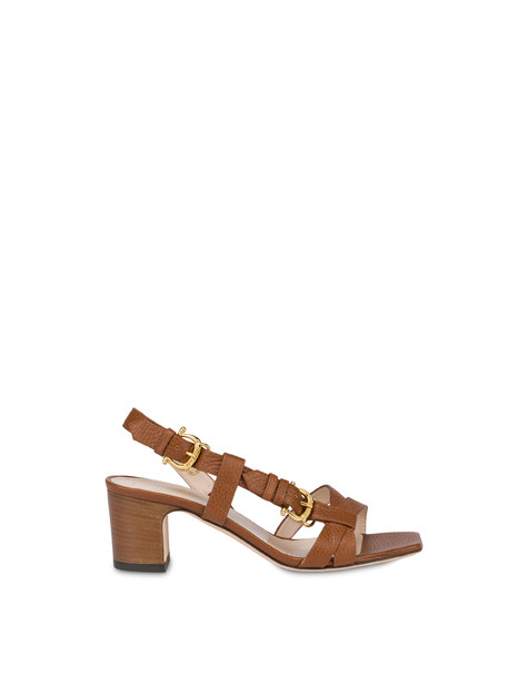 Buckle Notes calfskin sandals HIDE