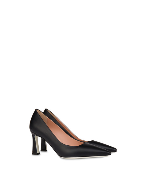 Cote D'Azur calfskin pumps BLACK