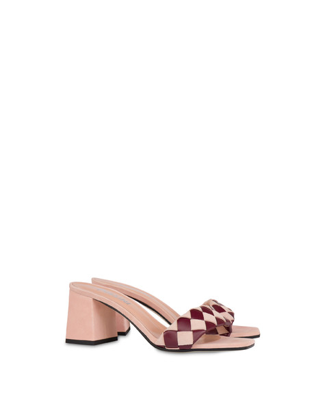 The Queen Of Chess sandals QUARTZ/RASPBERRY
