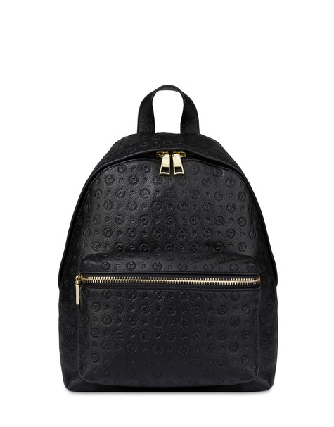 Heritage Logo Embossed backpack BLACK
