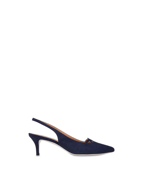 Love In Venice suede pump MEDITERRANEAN