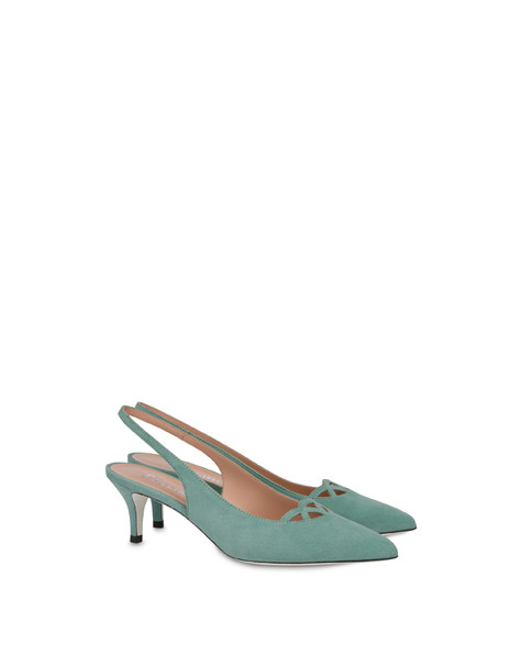 Love In Venice suede pump MINT