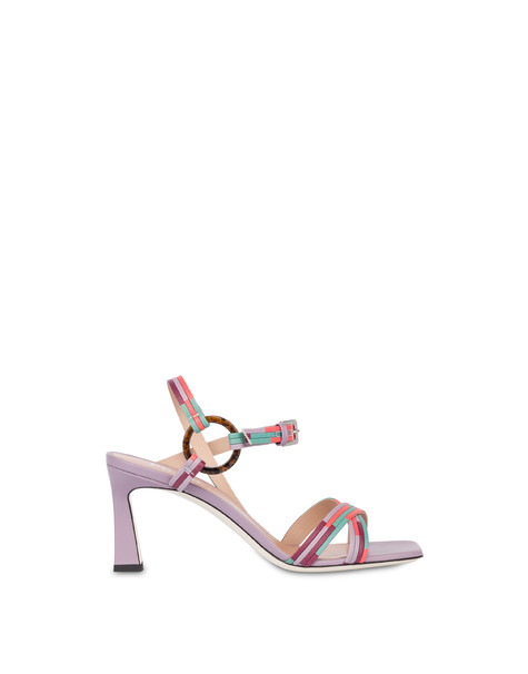 Between The Lines high sandals LAVENDER-RASPBERRY-MINT-CORAL