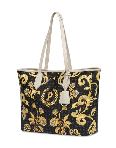Heritage Queen For A Day shopping bag BLACK/IVORY