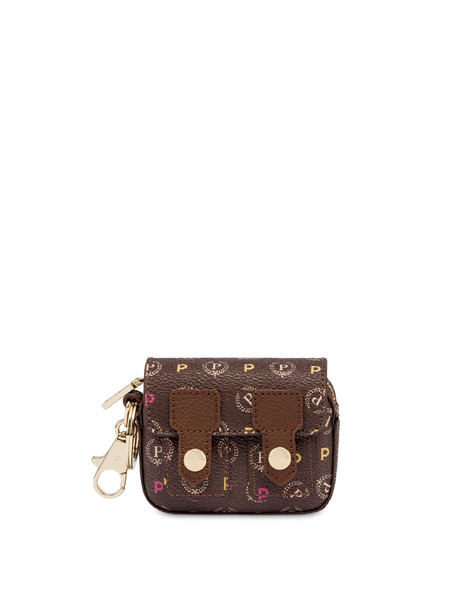 Charm mini borsa a spalla Heritage MULTICOLOR/MARRONE