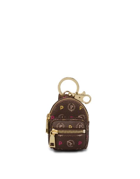 Heritage mini backpack charm MULTICOLOUR/BROWN