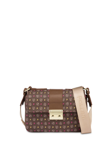 Heritage shoulder bag MULTICOLOUR/BROWN