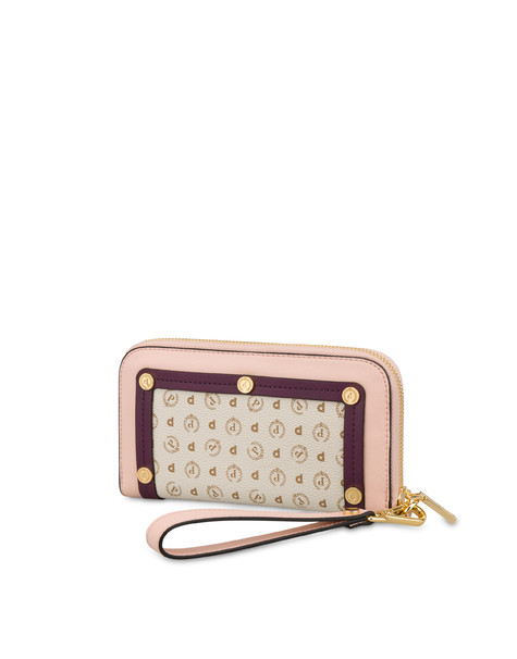 Margarita zip around wallet NUDE/BORDEAUX/IVORY