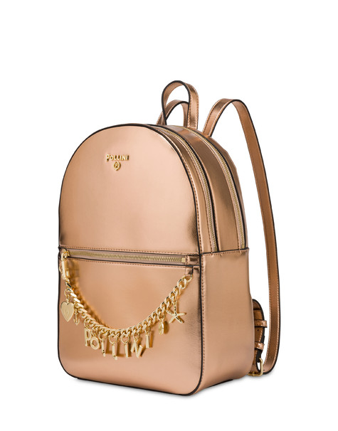 Sea Charms laminated backpack COPPER