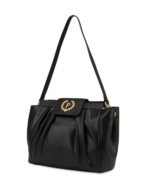 Andromeda soft shoulder bag BLACK