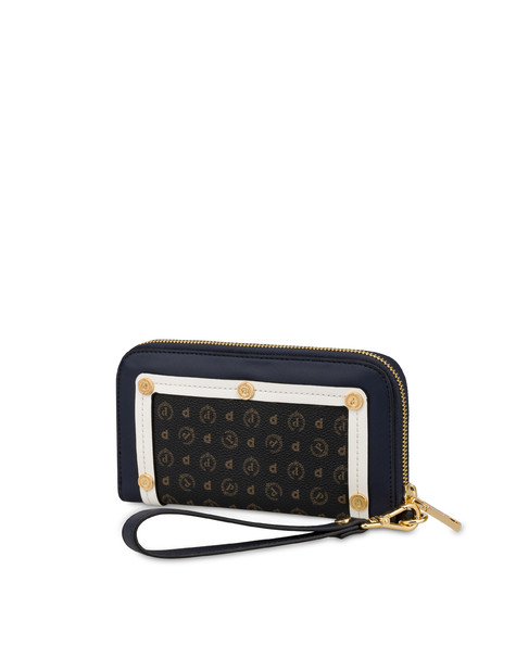 Margarita zip around wallet BLUE-WHITE/BLACK