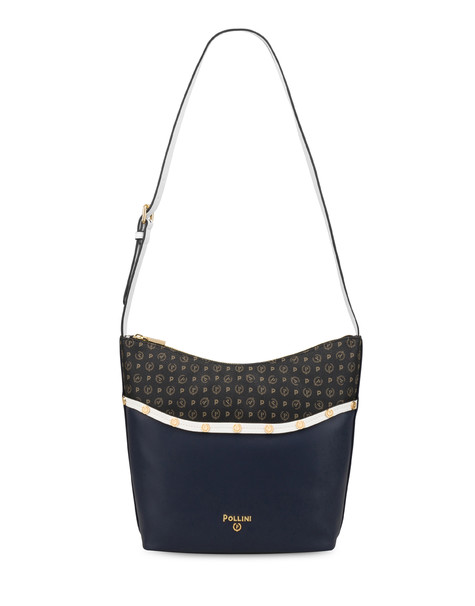 Margarita studded hobo bag BLUE-WHITE/BLACK
