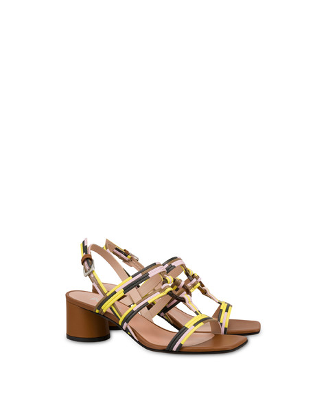 Between The Lines sandals HIDE-SUN-BLACK-QUARTZ