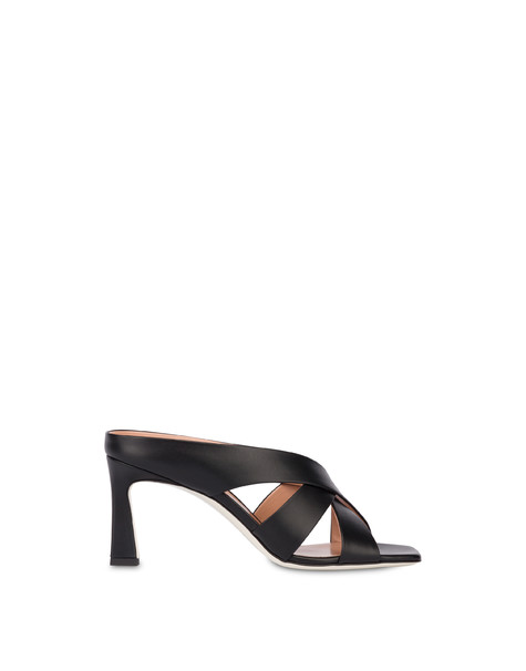 Cote D'Azur sandals in calfskin BLACK