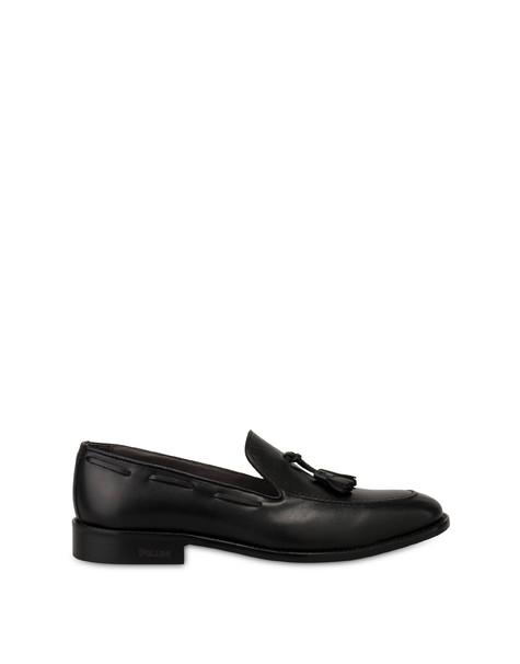 Corinto calfskin shoes BLACK