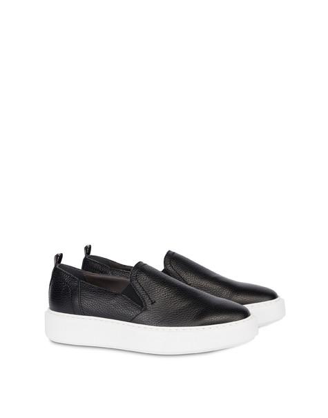 Marina calfskin slip-on sneaker BLACK