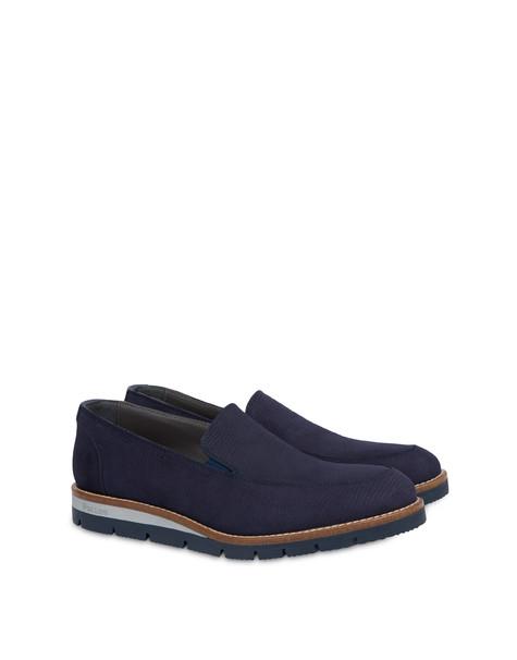 Madras print nubuck loafers MEDITERRANEAN/MEDITERRANEAN
