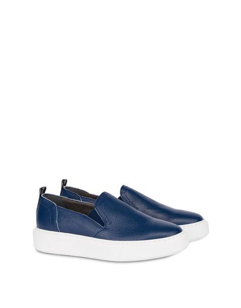 Marina calfskin slip-on sneaker AZULEJOS