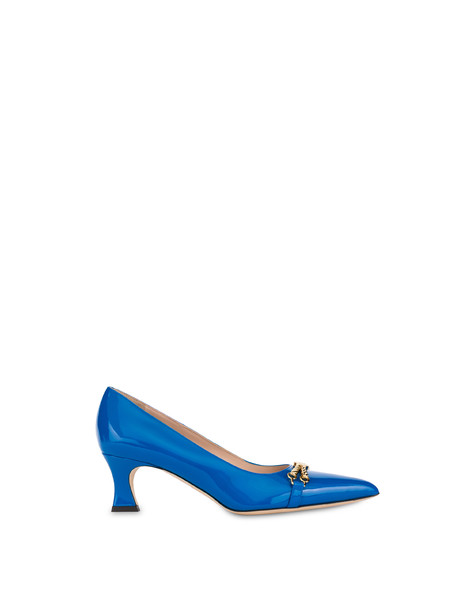 Aris patent leather pump AZULEJOS