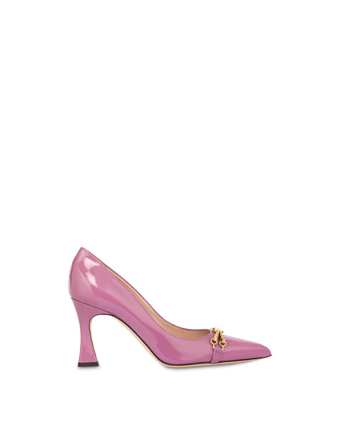 Aris patent leather high pump LAVENDER