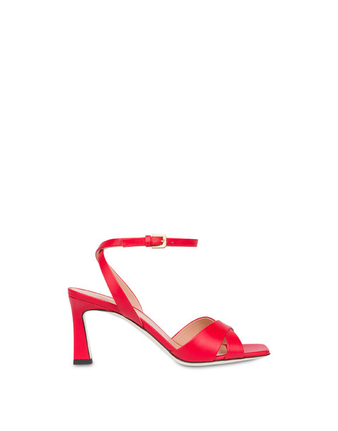 Cote D'Azur sandals in calfskin LAKY RED