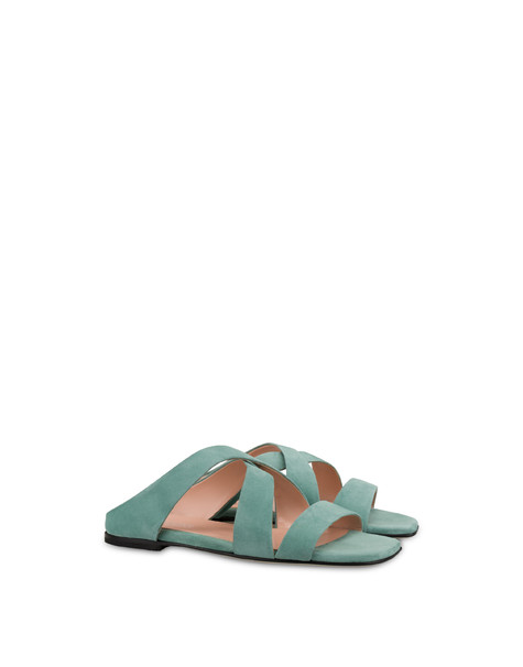 Cote D'Azur suede sandals MINT