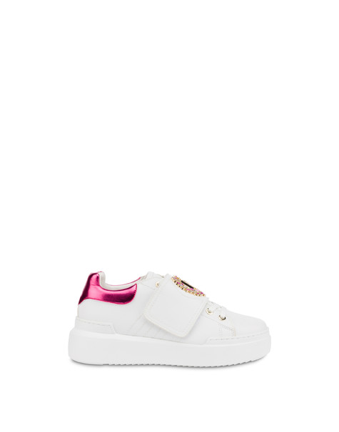 Diamond Carrie sneakers WHITE/FUCHSIA