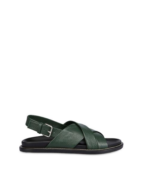 Saint Tropez cowhide sandals MILITARY GREEN