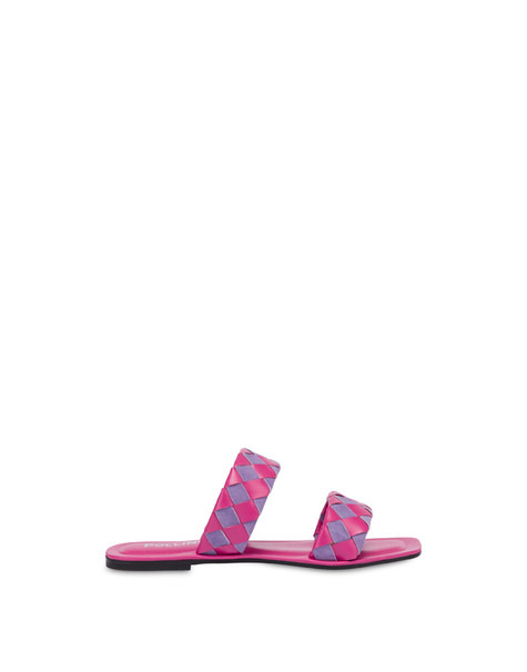 The Queen Of Chess flat sandals LAVENDER/FUCHSIA