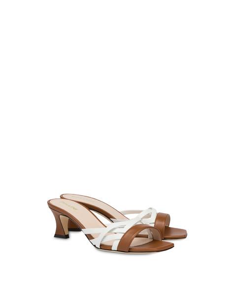 Pollini You Design sandals HIDE/WHITE