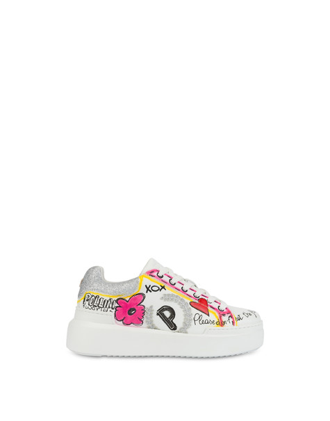 'Please don't eat the flowers' sneakers
