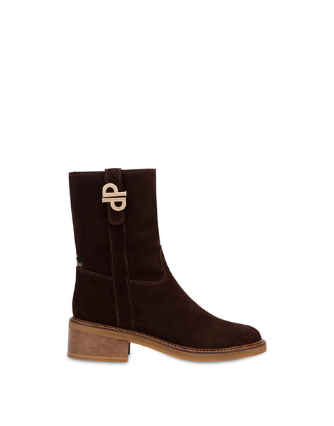 Twin P split-leather ankle boots SACHER