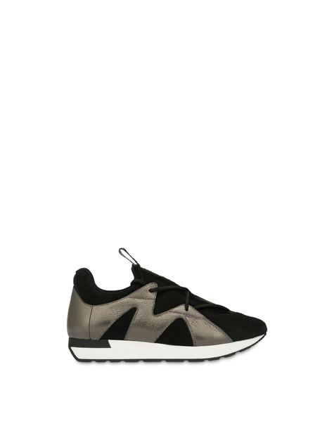 Slip-on sneakers Elastic Onda NERO/FUCILE/NERO