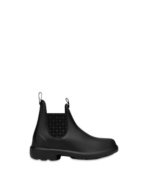 Beatles rubber rain boots BLACK