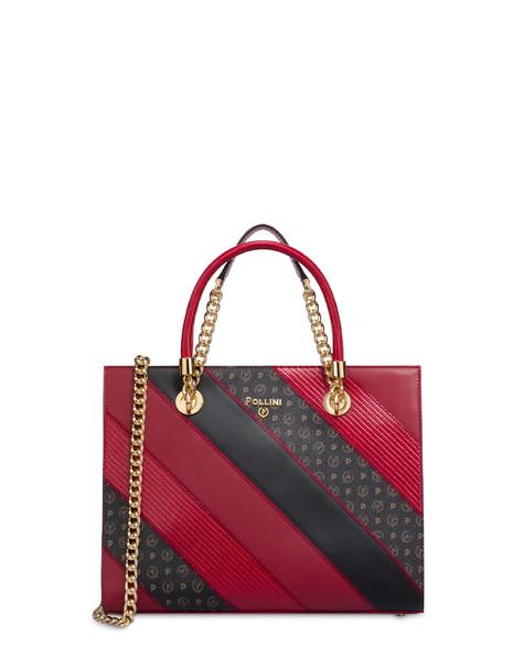 Royal Boiserie patchwork crossbody bag GARNET/BLACK/MULTICOLOUR