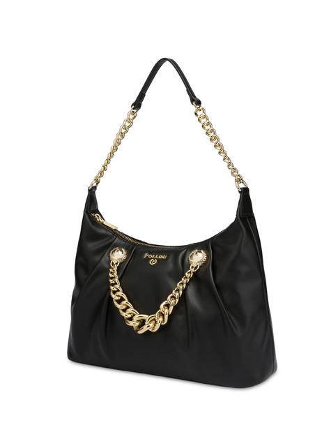 Queen shoulder bag BLACK