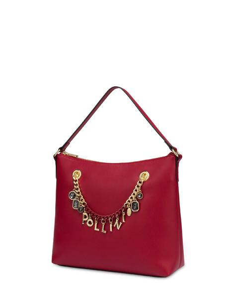 Charms shoulder bag GARNET