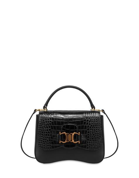 Natalia calf leather handbag BLACK/BLACK