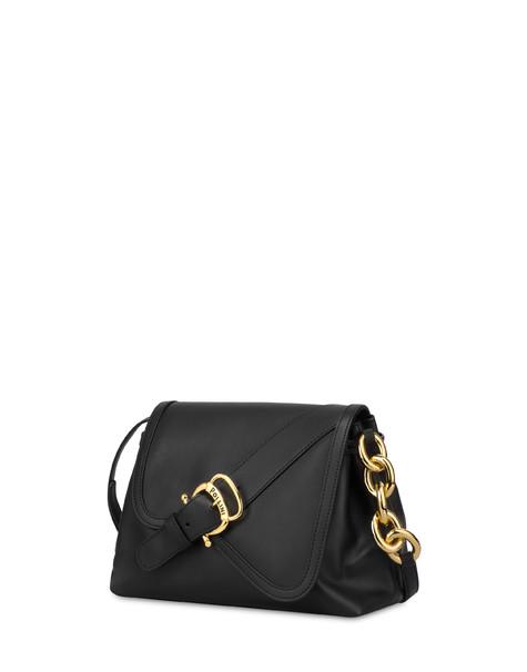 Shoulder bag in Cabiria Buckle calf leather BLACK/BLACK