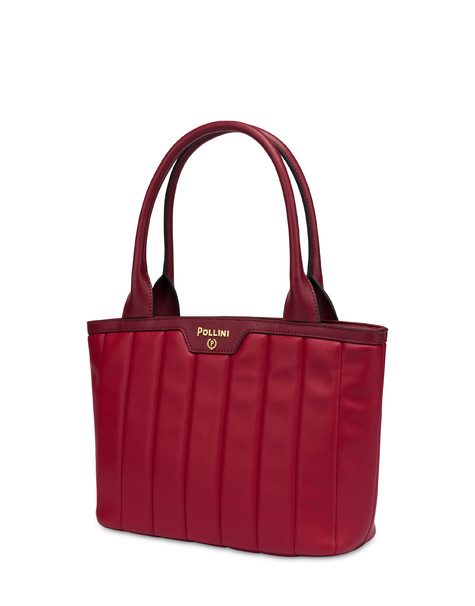 Shiny Tank handbag GARNET/BORDEAUX