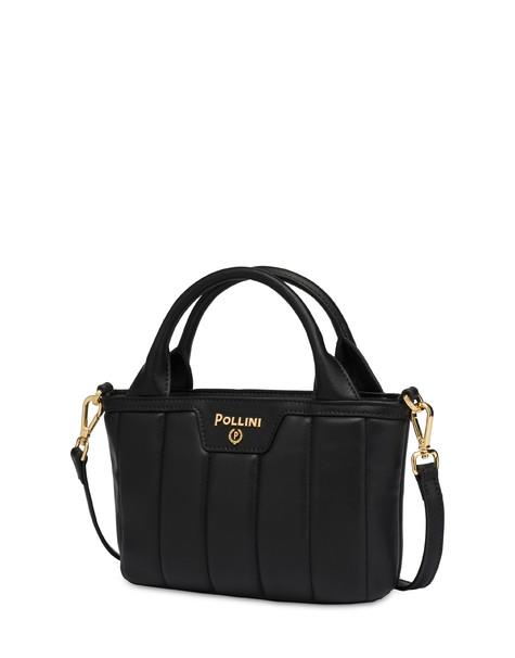 Shiny Tank mini handbag BLACK/BLACK