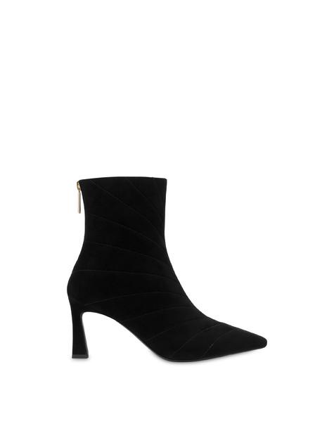 Belle Époque suede ankle boots BLACK
