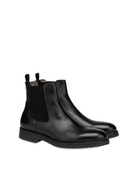 Beatles in Gentlemen's Club calf leather BLACK