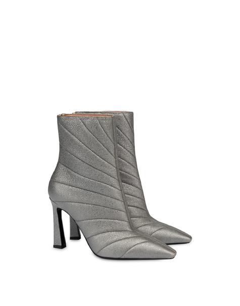 Belle Époque laminated nappa leather ankle boots GUN