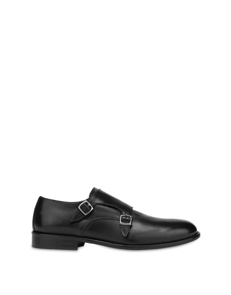 Monk Strap in 1920 calf leather BLACK