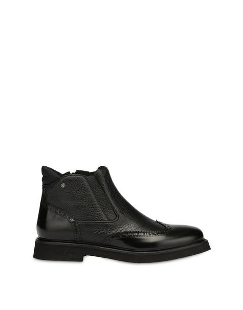 Wien calf leather ankle boots BLACK/BLACK/BLACK