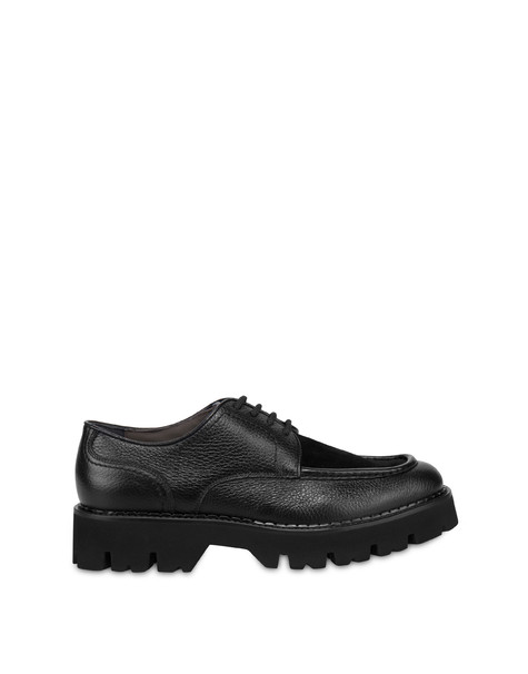 Paraboot derby in Camden calf leather and leather BLACK/BLACK